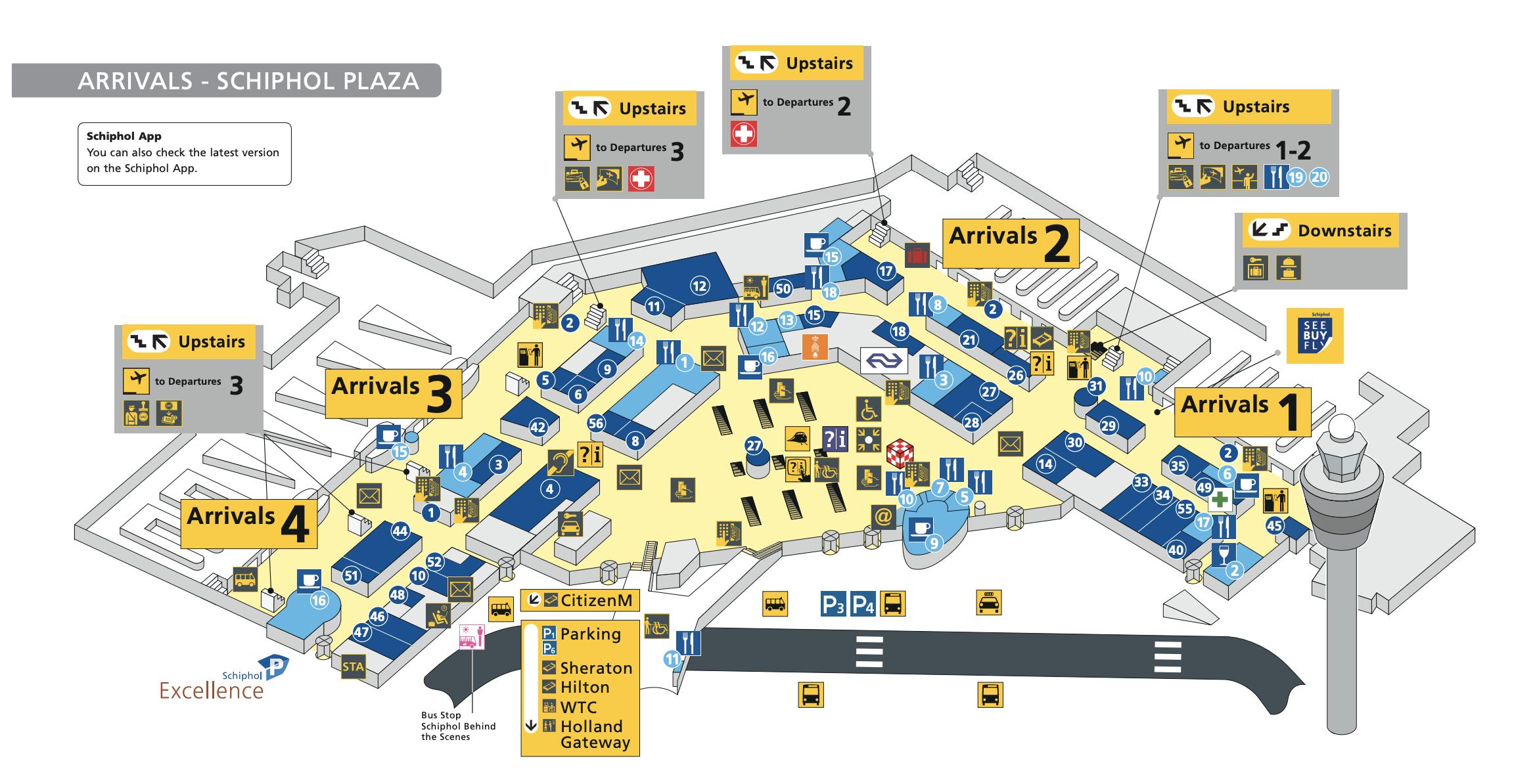 amsterdam schiphol airport map Amsterdam Airport Schiphol Arrivals Map Tulip Festival Amsterdam amsterdam schiphol airport map
